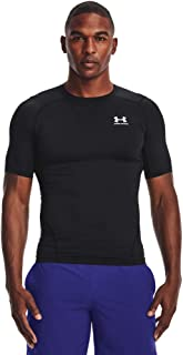 Under Armour Men's Ua Hg Armour Comp Ss Short-Sleeved Sports t-Shirt for Men, Comfortable and Lightweight Gym Clothes for ...