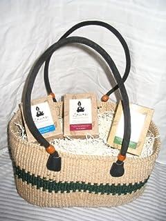 "Caring ""Gourmet Tea Taster"" Gift Basket By Zawadi African Tea"