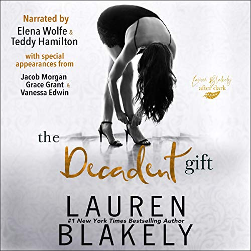 The Decadent Gift audiobook cover art