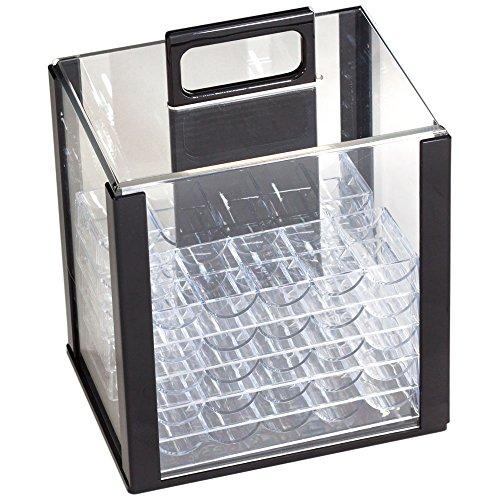 1000 acrylic poker case - 5