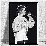 xiongda Justin Bieber Mode Popmusik Sänger Star Poster