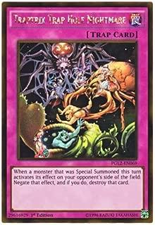 Yu-Gi-Oh! English Version PGL 2-EN 083 Grapha, Dragon Lord of Dark World Rakujin Gurafa (Gold Rare) 1st Edition in The Dark World