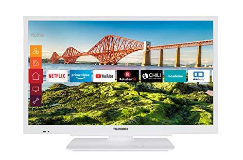 Bester der welt Telefunken XF22J501V-W 22-Zoll-Fernseher (Smart-TV einschließlich Prime Video / Netflix / YouTube, voll…