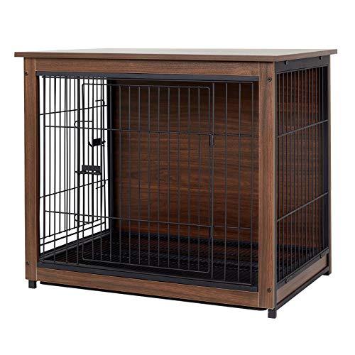 Bingopaw Wooden Dog Crate