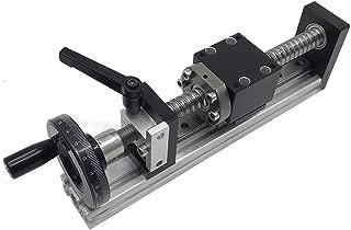 Manual Sliding Table 200mm Ballscrew 1605 Linear Rail Guide Slide Stage C7 Travel Length 8
