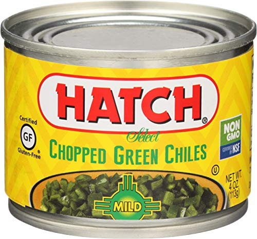 Hatch Green Chilies-Chopped/Mild, 4 oz