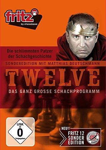 Fritz 12 SE - Die schlimmsten Patzer der Schachgeschichte (PC) [Importación alemana]