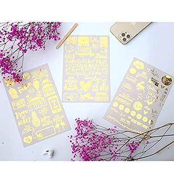 Gold Scrapbook Stickers Scrapbooking Supplies Scrapbook Supplies Love Stickers