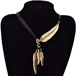 Wcysin Women Girls Antique Vintage Time Necklace Sweater Chain Pendant Jewelry Gold
