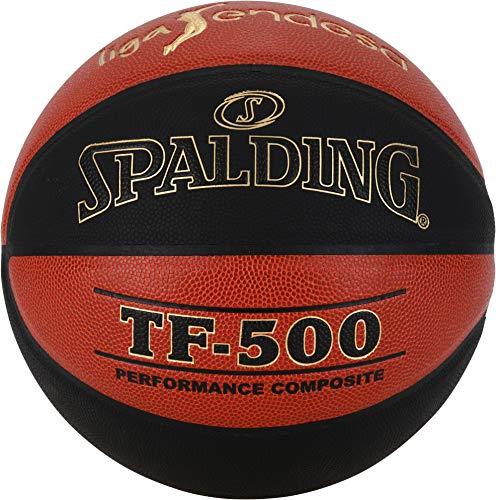 Spalding Balón Liga Endesa Tf500 Naranja-Negro 76-287Z
