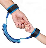 Jeval Child Safety Anti Lost Wrist Link Harness Strap Rope Leash Walking Hand Belt