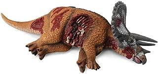 Collecta Prehistoric Life Dino Prey Dead Triceratops Vinyl Toy Dinosaur Figure