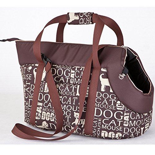 Boîte de transport N tornap7 HOBBYDOG R2 Bag Sac de transport pour chien et chat Sac pour chien chat Sac de Transport Sac de transport (3 tailles) (R2 (25 x 43 cm))