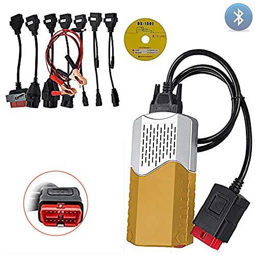 Bluetooth DS OBD2 accessoire du logiciel doutil de diagnostic 2015R3 TCS pour CDP Suuonee Outil de diagnostic
