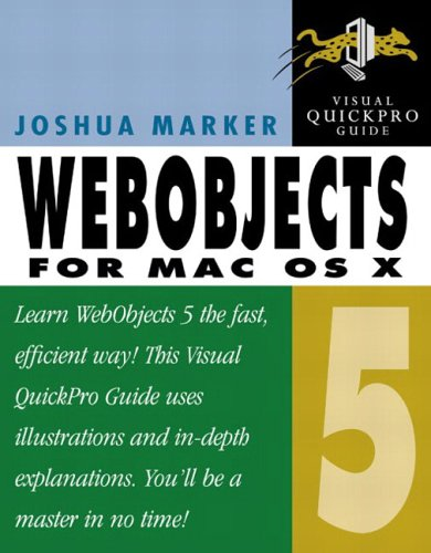 WebObjects 5 for Mac OS X (Visual Quickpro Guide)