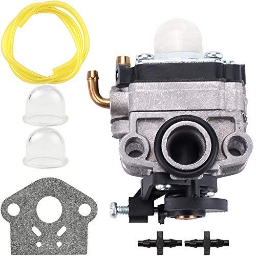 753-06220 Carburetor for Troy Bilt Built TB575EC TB525EC Curve Shaft Gas String Trimmer 575EC Carb MTD 753-06220A Parts Kit