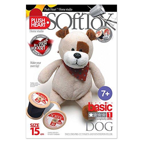 Plush Hearts - DIY Plush - Dog Sitting 15cm