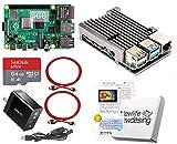Raspberry Pi 4 アーマード (4GB基盤, アーマーケース(ガンメタ:FAN無), Anker 18W電源 高速型64GB MicroSD,4K出力用HDMIケーブル2本, スイッチケーブル)