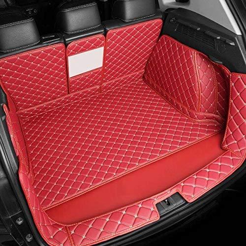 Fit estera maletero del coche Fit for BMW X1 X3 X4 X5 X6 X2 E46 E39 E60 F10 F11 de línea de carga interior Accesorios Alfombra estilo del coche, un conjunto completo esteras tronco alfombrilla univers