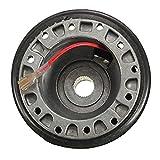 Fiween Adaptador de buje para Volante de 17 mm, Adaptador N-7 para Nissan S13 S14 S15 R33 R34