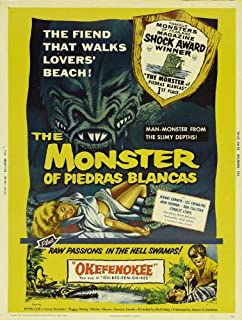 The Monster of Piedras Blancas POSTER Movie (27 x 40 Inches - 69cm x 102cm) (1959)
