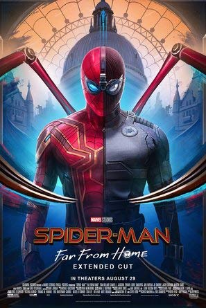 """Poster """"Spider-Man : FAR from Home - U.S Movie Wall Print"""", 30 x 43 cm"""