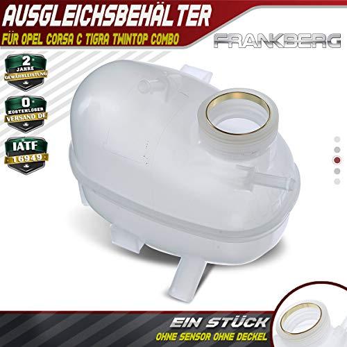 Compensietank koelvloeistof voor Combo Corsa B Corsa B Kasten Tigra 73_ 78_ 79_ 1993-2001 9129478
