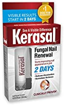 Kerasal Fungal Nail Renewal, Restores Appearance of Discolored or Damaged Nails, 0.33 fl oz