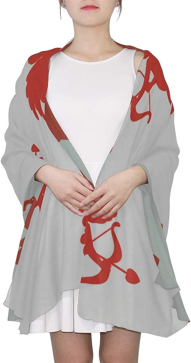 Kid Shawl Wrap Lovely Kawaii Arrow Particluar Fashion Scarfs For Women Lightweight Scarf Long Women Lightweight Print Scarves Mens Scarf Kids Scarf