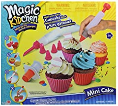 Create your own cupcakes! Use your own ingredients to personalize your incredibly delicious creations! Ingredients not included.