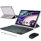 5G WiFi Tablet 10.1 Pulgadas Android 10.0, Octa-Core 1.5 GHz Ultrar-Rápido Tableta, Tablet PC con 6GB RAM+64GB ROM (TF 512GB), Batería 6500mAh,Dual Cámara,1920*1200,Dual SIM/GPS/OTG/Bluetooth(Argento)