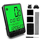 Gafild Bike Computer Wireless, Waterproof LCD Bicycle Speedometer Easy to Install Bike Odometer with 32...