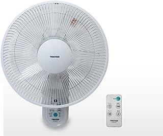 テクノス DCモーター壁掛け扇風機 KI-DC333 DC扇風機 フルリモコン 5枚羽根 30cm 箱ダメージ品