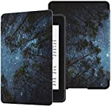 Colorful Star Smart Case for Kindle Paperwhite 10th Generation 2018 - PU Leather Protective Kindle Paperwhite Covers for...
