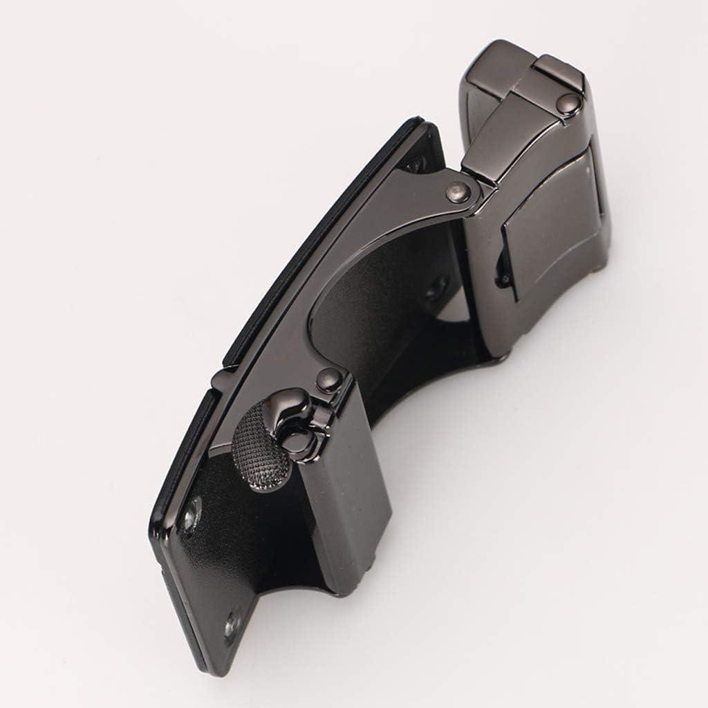 non-brand G/ürtelschnalle Buckle 40mm Metall Automatische Dornschliesse f/ür Lederg/ürtel Stoffg/ürtel