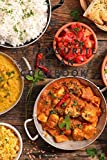 """MY FAVOURITE INDIAN COOKBOOK: BLANK 6"""" X 9"""" RECIPE BOOK FOR INDIAN MEALS"""