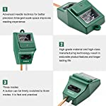 Sonkir Soil pH Meter, MS02 3-in-1 Soil Moisture/Light/pH Tester Gardening Tool Kits for Plant Care, Great for Garden… 11 Kindly NOTE: This soil tester can not be applied to test pH value of any other liquid. If the soil is too dry the indicator will not move, and water it before testing. 3-IN-1 FUNCTION: Test soil moisture, pH value and sunlight level of plant with our soil meter, helps you specialize in grasping when you need to water your plant. ACCURATE & RELIABLE: Double-needle Detection Technology strongly enhances the speed and accuracy of detecting and analyzing soil moisture and pH acidity.
