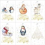 25 Geschenkanhänger Weihnachten