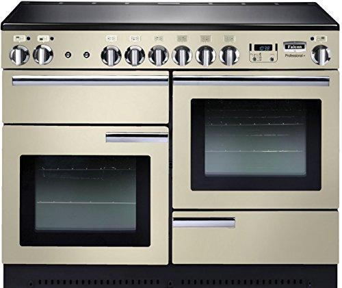 Falcon Professional + 110Range Cooker Platte mit Zone Induktions Hat Creme–Öfen und. (Range Cooker, creme, drehbar, vor, elektronisch, LCD)