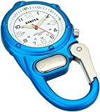 DakotaWatch 38079 Adult's Mini Clip Microlight Aqua One Size