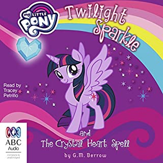 Twilight Sparkle and the Crystal Heart Spell cover art