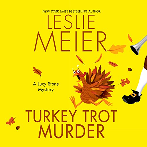 Turkey Trot Murder audiobook cover art