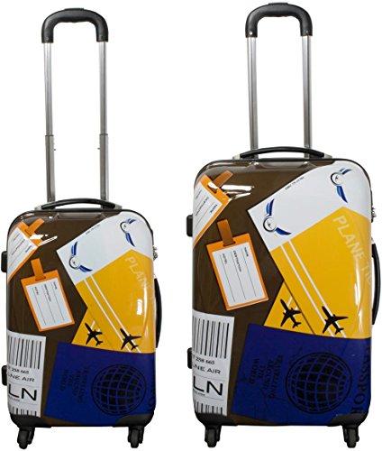 normani ABS Hartschalen Koffer Set Ausführungen Farbe Neapel