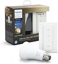 Philips Hue Smart Dimmable LED Smart Light Recipe Kit, Installation Free, no Hub Required, (Works with Alexa Apple HomeKit...