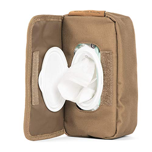 Tactical Baby Gear MOLLE Baby Wipe Pouch 2.0 (Coyote Brown)