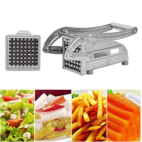 Cortador de Patatas Fritas de Acero Inoxidable, trituradora de Verduras, máquina cortadora de Patatas Fritas, rebanadoras Profesionales o Cocina