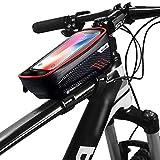 FINSHN Bastidor de la Bicicleta Teléfono Montaje de la Bici Bolsa Impermeable Tubo Ciclismo Frontal Parte Superior de la Bolsa de Manillar de la Bici sostenedor del teléfono de Maletas Grandes Bolsas
