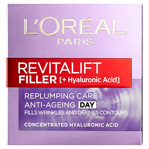 L'Oreal Paris Revitalift Filler + Hyaluronic Acid Anti-Ageing Anti-Wrinkle...