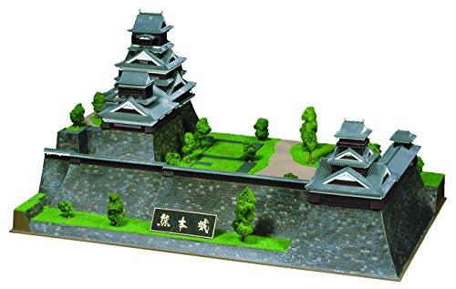 童友社 1/350 日本の名城 DXシリーズ 重要文化財 熊本城 プラモデル DX7