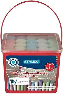 Stylex Craies de Trottoir Multicolores - 48104